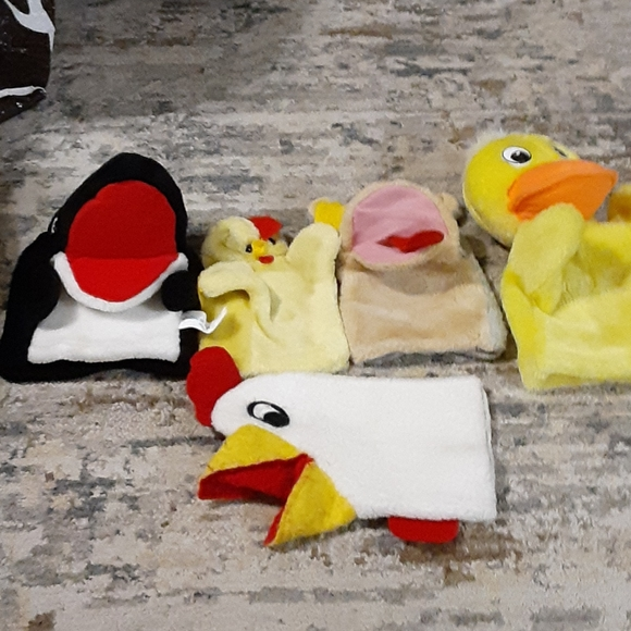 Vintage Puppet Lot Sheram Puppets For Classroom